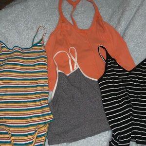 Crop tops and bodysuit sets